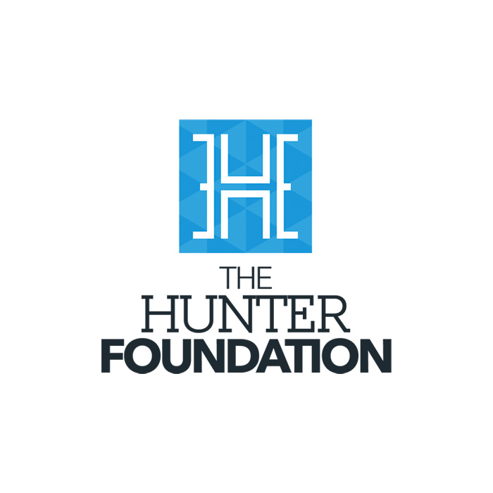 The Hunter Foundation gets a new visual identity.